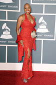 Singer Dee Dee Bridgewater arrives at The 53rd Annual GRAMMY Awards held at Staples Center on February 13 2011 in Los Angeles California