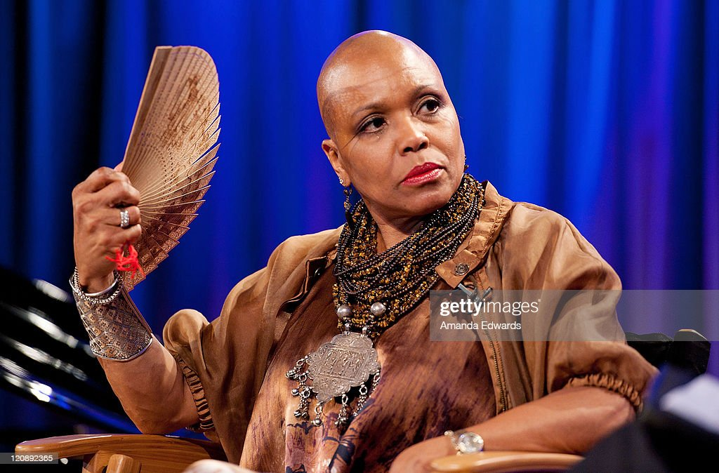 Singer <a gi-track='captionPersonalityLinkClicked' href=/galleries/search?phrase=Dee+Dee+Bridgewater&family=editorial&specificpeople=2518501 ng-click='$event.stopPropagation()'>Dee Dee Bridgewater</a> participates in The Drop : <a gi-track='captionPersonalityLinkClicked' href=/galleries/search?phrase=Dee+Dee+Bridgewater&family=editorial&specificpeople=2518501 ng-click='$event.stopPropagation()'>Dee Dee Bridgewater</a> at The GRAMMY Museum on August 11, 2011 in Los Angeles, California.