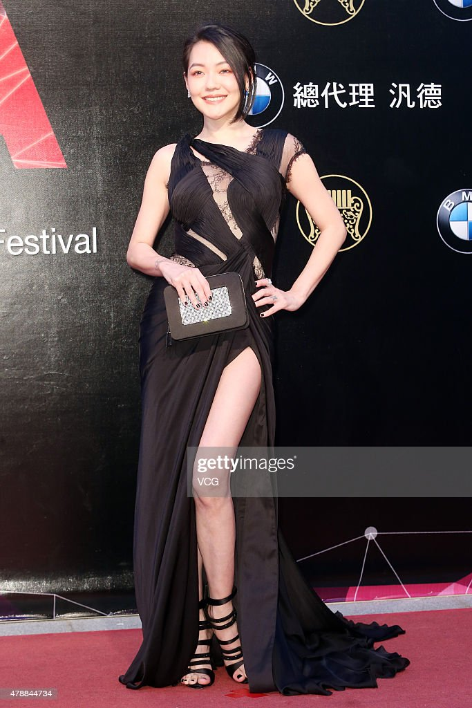 Singer <a gi-track='captionPersonalityLinkClicked' href=/galleries/search?phrase=Dee+Hsu&family=editorial&specificpeople=4238913 ng-click='$event.stopPropagation()'>Dee Hsu</a> arrives at the red carpet of 26th Golden Melody Awards at Taipei Arena on June 27, 2015 in Taipei, Taiwan.