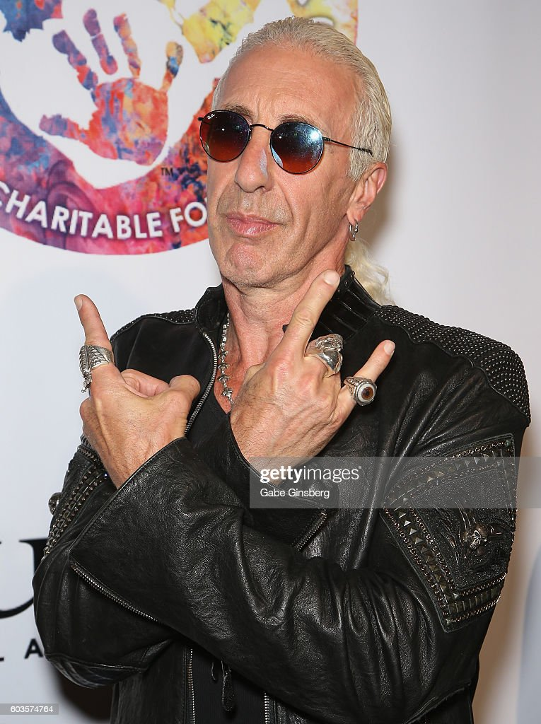 Singer Dee Snider of Twisted Sister attends Criss Angel's HELP (Heal Every Life Possible) charity event at the Luxor Hotel and Casino benefiting pediatric cancer research and treatment on September 12, 2016 in Las Vegas, Nevada.