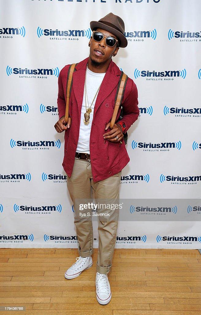 Singer Deitrick Haddon visits SiriusXM Studios on September 3, 2013 in New York City.