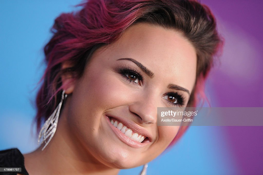 Singer Demi Lovato arrives at the 1st Annual unite4:humanity event hosted by unite4:good and Variety at Sony Studios on February 27, 2014 in Los Angeles, California.