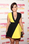 Singer Demi Lovato attends Cosmopolitan 'Fun Fearless' Latina Awards at Hearst Tower on June 4 2014 in New York City