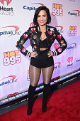 Singer Demi Lovato attends Hot 995's Jingle Ball 2015 presented by Capital One at Verizon Center on December 14 2015 in Washington DC