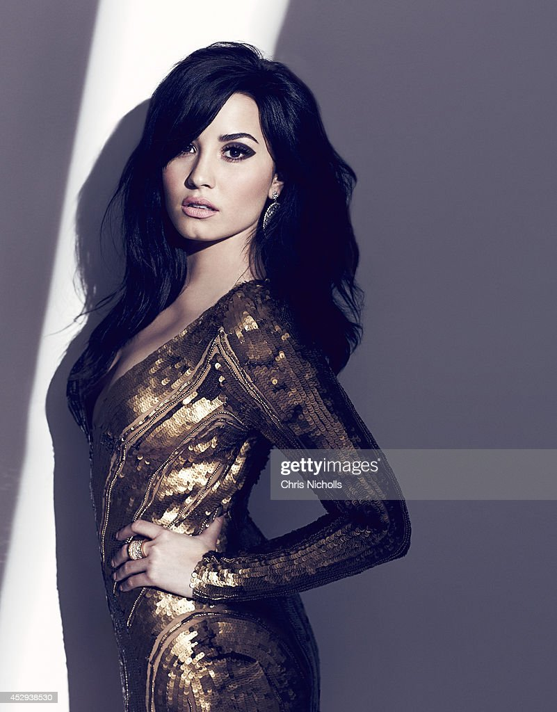 Singer <a gi-track='captionPersonalityLinkClicked' href=/galleries/search?phrase=Demi+Lovato&family=editorial&specificpeople=4897002 ng-click='$event.stopPropagation()'>Demi Lovato</a> is photographed for Fashion Magazine on August 1, 2013 in Los Angeles, California. ON