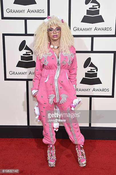 Singer Dencia attends The 58th GRAMMY Awards at Staples Center on February 15 2016 in Los Angeles California