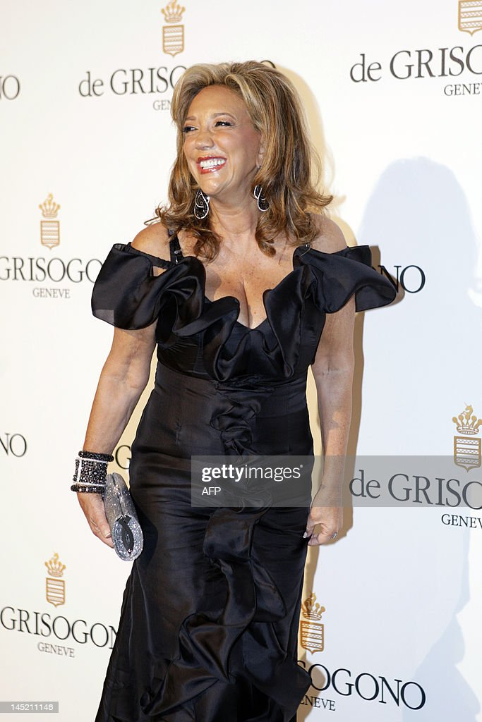 US singer Denise Rich attends the Grisogono party, at the hotel Eden Roc, in Antibes, during the 65th Cannes film festival, on May 23, 2012. AFP PHOTO / JEAN CHRISTOPHE MAGNENET