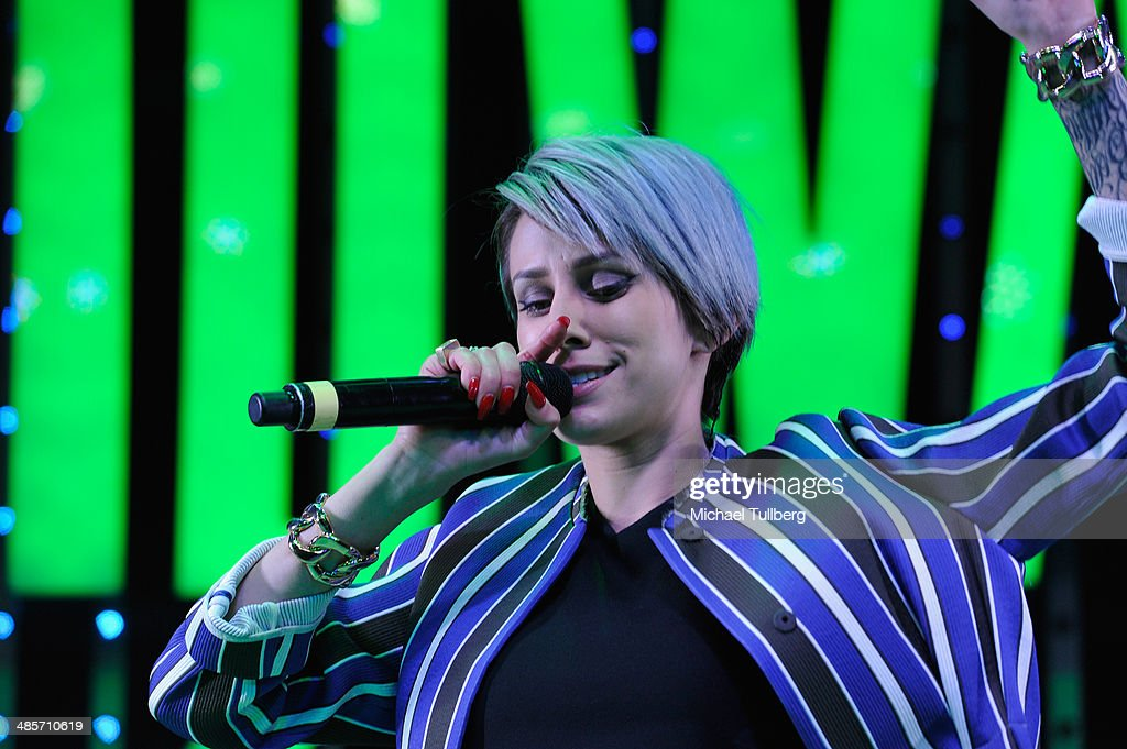 Singer Dev performs as part of the 'Spring Concert Series' at 5 Towers Outdoor Concert Arena on April 19, 2014 in Universal City, California.