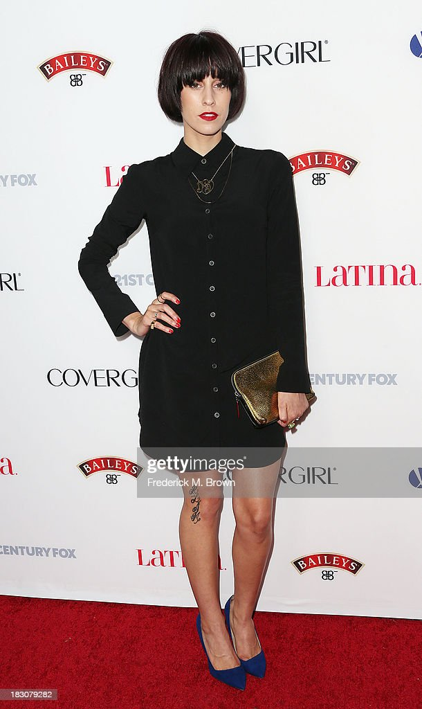 Singer Devin Star Tailes attends Latina Magazine's 'Hollywood Hot List' Party at The Redbury Hotel on October 3, 2013 in Hollywood, California.