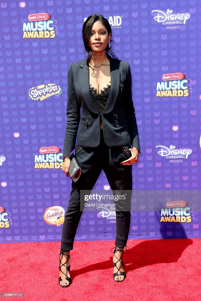 Singer Diamond White attends the 2016 Radio Disney Music Awards at Microsoft Theater on April 30, 2016 in Los Angeles, California.