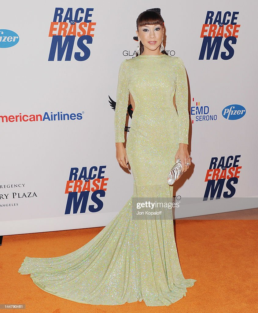 Singer Diana DeGarmo arrives at the 19th Annual Race To Erase MS Event at the Hyatt Regency Century Plaza on May 18, 2012 in Century City, California.