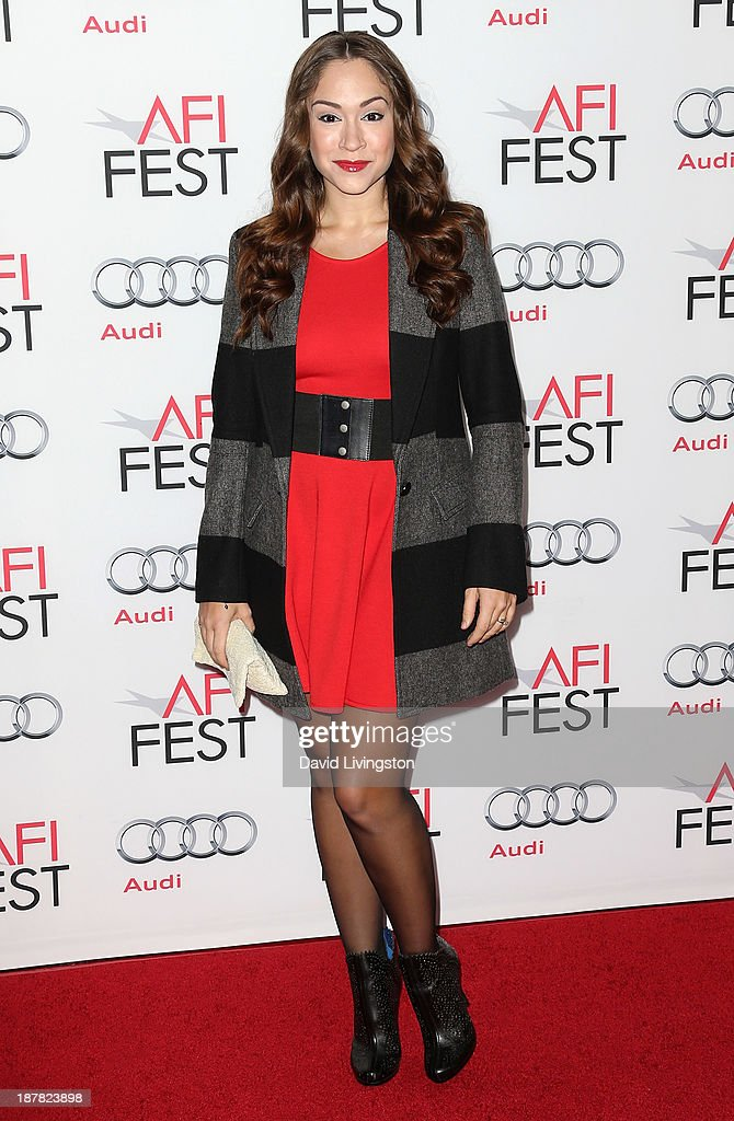 Singer Diana DeGarmo attends the AFI FEST 2013 presented by Audi premiere of 'Lone Survivor' at the TCL Chinese Theatre on November 12, 2013 in Hollywood, California.