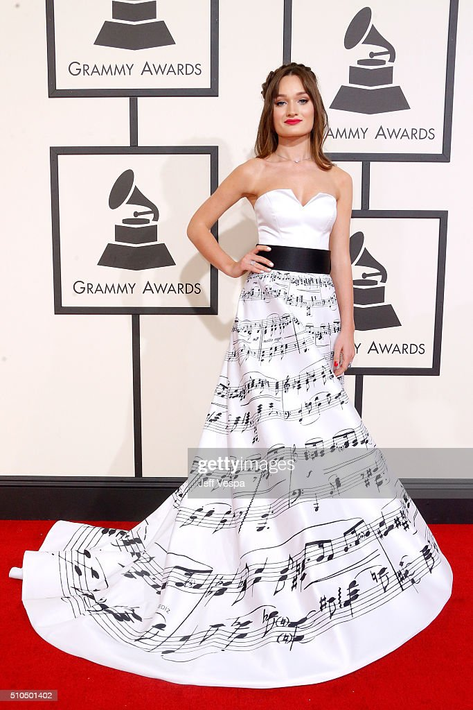 Singer Diana Gloster attends The 58th GRAMMY Awards at Staples Center on February 15, 2016 in Los Angeles, California.