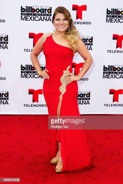 Singer Diana Reyes attends the 2013 Billboard Mexican Music Awards arrivals at Dolby Theatre on October 9 2013 in Hollywood California
