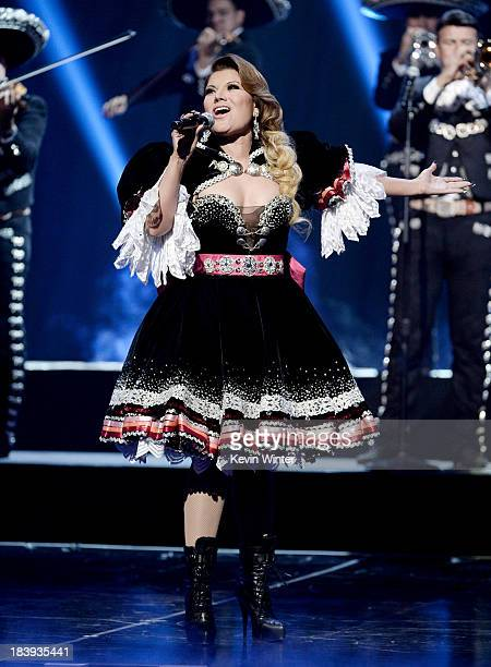 Singer Diana Reyes performs at the Billboard Mexican Music Awards at the Dolby Theatre on October 9 2013 in Los Angeles California
