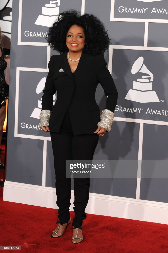 Singer <a gi-track='captionPersonalityLinkClicked' href=/galleries/search?phrase=Diana+Ross&family=editorial&specificpeople=202836 ng-click='$event.stopPropagation()'>Diana Ross</a> arrives at The 54th Annual GRAMMY Awards at Staples Center on February 12, 2012 in Los Angeles, California.