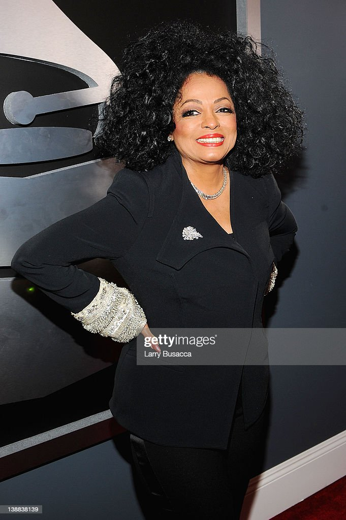 Singer <a gi-track='captionPersonalityLinkClicked' href=/galleries/search?phrase=Diana+Ross&family=editorial&specificpeople=202836 ng-click='$event.stopPropagation()'>Diana Ross</a> arrives at the 54th Annual GRAMMY Awards held at Staples Center on February 12, 2012 in Los Angeles, California.