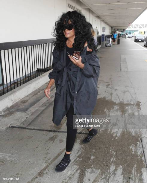 Singer Diana Ross is seen on October 11 2017 in Los Angeles California