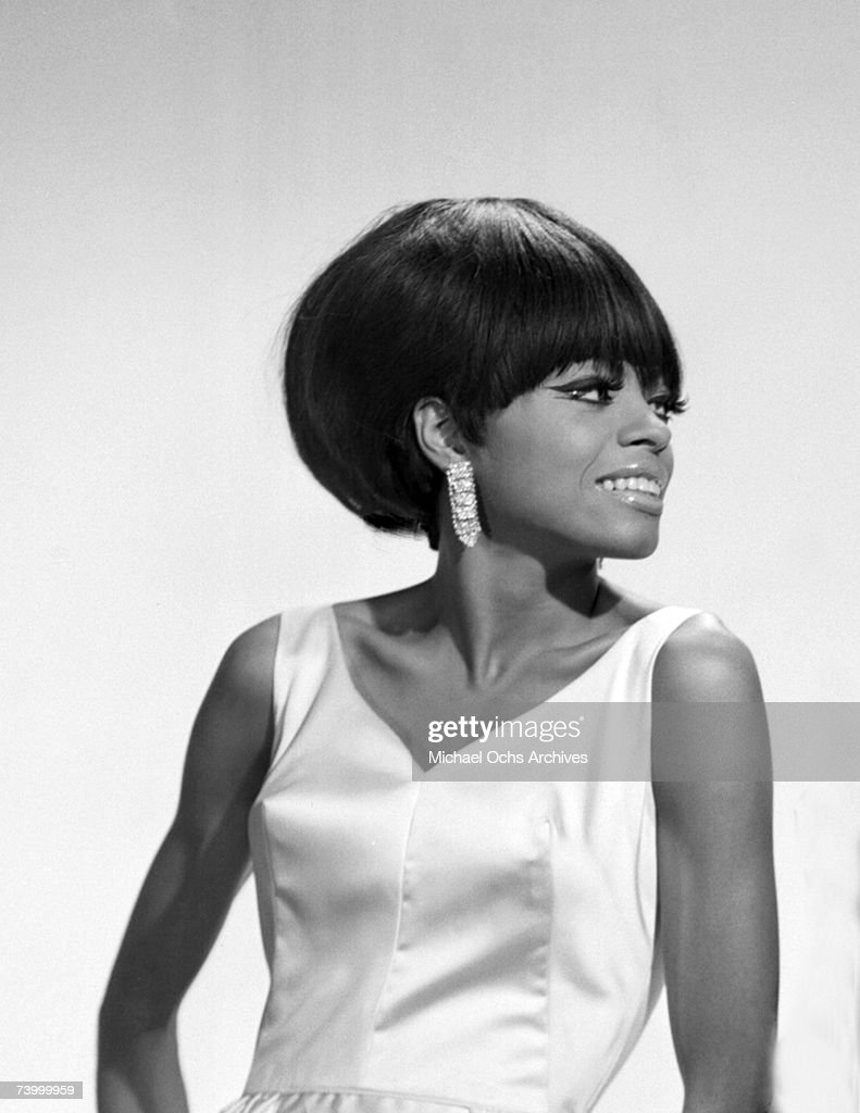 Singer Diana Ross of The Supremes poses for a portrait circa 1964 in New York City New York