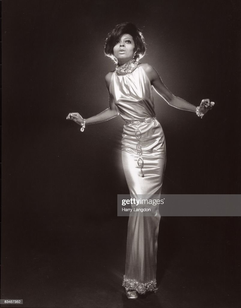 Singer Diana Ross poses for a portrait session on July 16 1975 in Los Angeles California