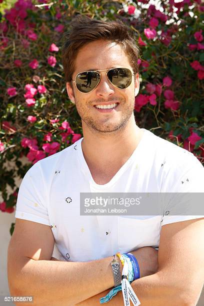 Singer Diego Boneta attends The Retreat Palm Springs 2016 on April 16 2016 in Palm Springs California