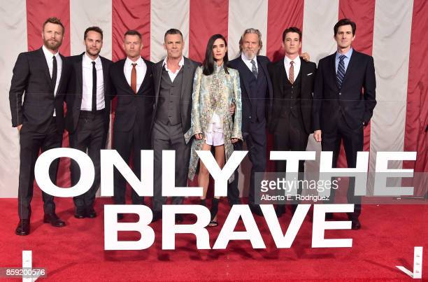 Singer Dierks Bentley actors Taylor Kitsch James Badge Dale Josh Brolin Jennifer Connelly Jeff Bridges Miles Teller and director Joseph Kosinski...