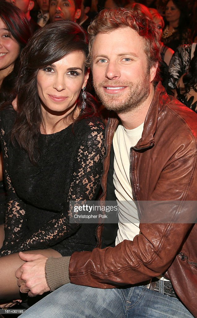 Singer <a gi-track='captionPersonalityLinkClicked' href=/galleries/search?phrase=Dierks+Bentley&family=editorial&specificpeople=243007 ng-click='$event.stopPropagation()'>Dierks Bentley</a> (R) and Cassidy Black attend the 55th Annual GRAMMY Awards at Staples Center on February 10, 2013 in Los Angeles, California.