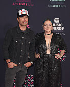 Singer Dierks Bentley and singersongwriter Elle King attend the 2016 CMT Music awards at the Bridgestone Arena on June 8 2016 in Nashville Tennessee