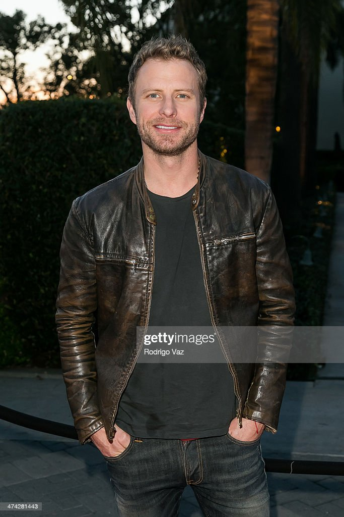 Singer Dierks Bentley arrives at the premiere of 'Bob Hoover's Legacy' at Paramount Theater on the Paramount Studios lot on February 21 2014 in...
