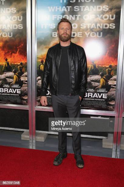 Singer Dierks Bentley attends 'Only The Brave' New York screening at iPic Theater on October 17 2017 in New York City