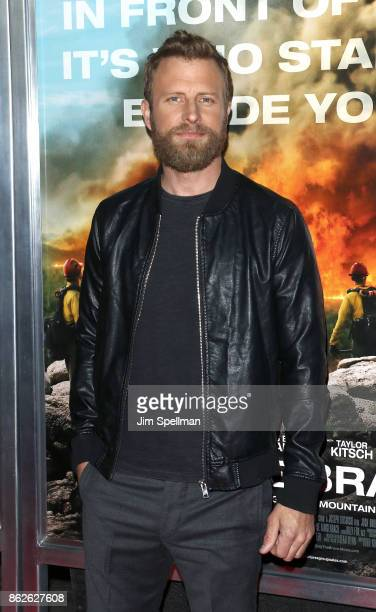 Singer Dierks Bentley attends the 'Only The Brave' New York screening at iPic Theater on October 17 2017 in New York City