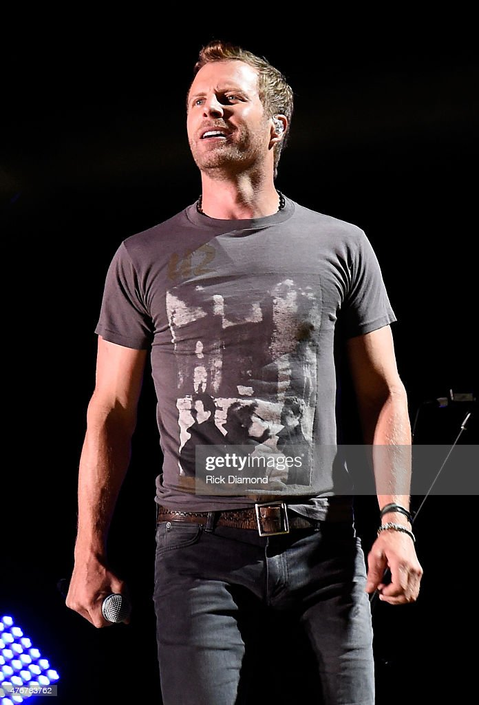 Singer <a gi-track='captionPersonalityLinkClicked' href=/galleries/search?phrase=Dierks+Bentley&family=editorial&specificpeople=243007 ng-click='$event.stopPropagation()'>Dierks Bentley</a> performs onstage during the 2015 CMA Festival on June 11, 2015 in Nashville, Tennessee.