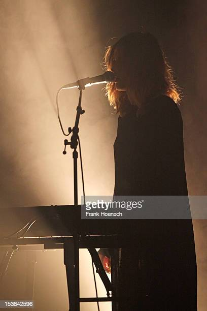 Singer Dillon performs live during a concert at the Volksbuehne on October 9 2012 in Berlin Germany