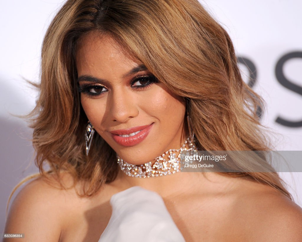 Singer Dinah Jane Hansen of Fifth Harmony arrives at the 2017 People's Choice Awards at Microsoft Theater on January 18, 2017 in Los Angeles, California.