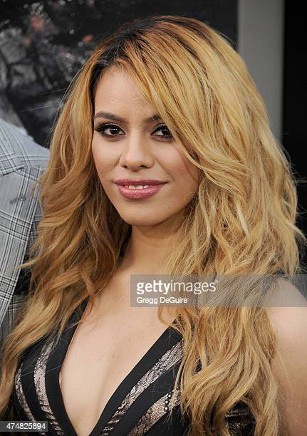 Singer Dinah Jane Hansen of Fifth Harmony arrives at the Los Angeles premiere of 'San Andreas' at TCL Chinese Theatre IMAX on May 26 2015 in...