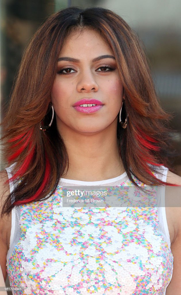 Singer Dinah Jane of the musical group Fifth Harmony attends the Topshop Topman LA Grand Opening at The Grove on February 14, 2013 in Los Angeles, California.