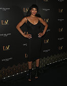 Singer Dionne Gipson attends the opening celebration of 'BAZ Star Crossed Love' at The Palazzo Las Vegas on July 12 2016 in Las Vegas Nevada