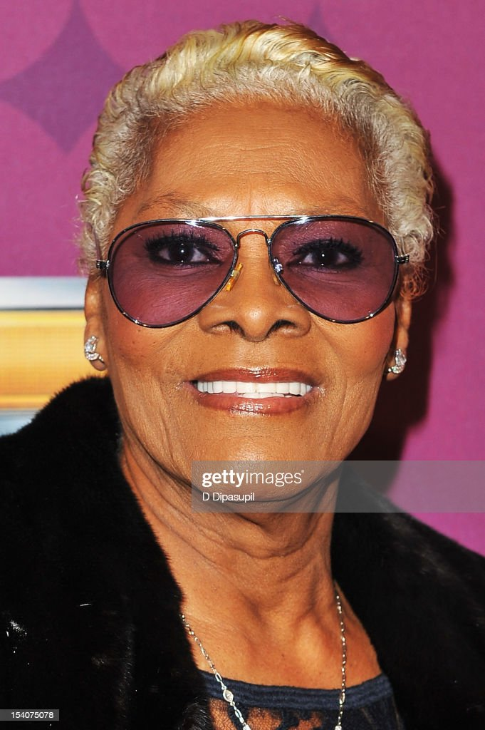 Singer <a gi-track='captionPersonalityLinkClicked' href=/galleries/search?phrase=Dionne+Warwick&family=editorial&specificpeople=213111 ng-click='$event.stopPropagation()'>Dionne Warwick</a> attends BET's Black Girls Rock 2012 CHEVY Red Carpet at Paradise Theater on October 13, 2012 in New York City.