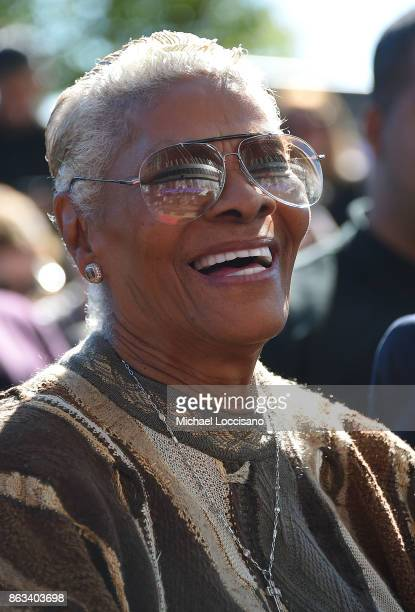 Singer Dionne Warwick attends the Grammy Museum Experience Prudential Center RibbonCutting Ceremony at Prudential Center on October 19 2017 in Newark...