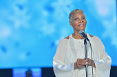 Singer Dionne Warwick performs onstage during the 2015 Latin GRAMMY Person of the Year honoring Roberto Carlos at the Mandalay Bay Events Center on...