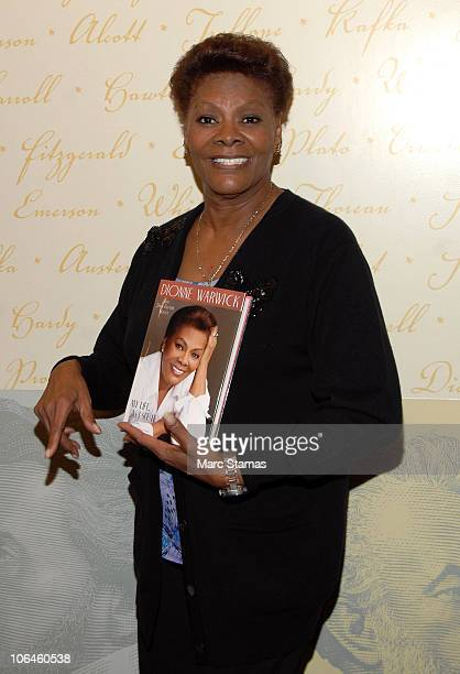 Singer Dionne Warwick promotes her new book 'My Life As I See It' at Barnes Noble Lincoln Triangle on November 2 2010 in New York City