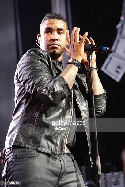 Singer Don Omar performs at the Terra Music Fest 2010 at the Gibson Amphitheater on October 3 in Los Angeles California