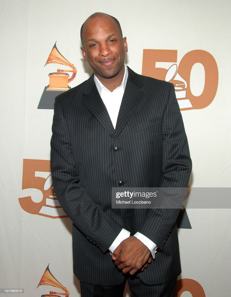 Singer Donnie McClurkin attends the Recording Academy New York Chapter's Tribute to Bon Jovi Alicia Keys Donnie McClurkin and the creators of West...