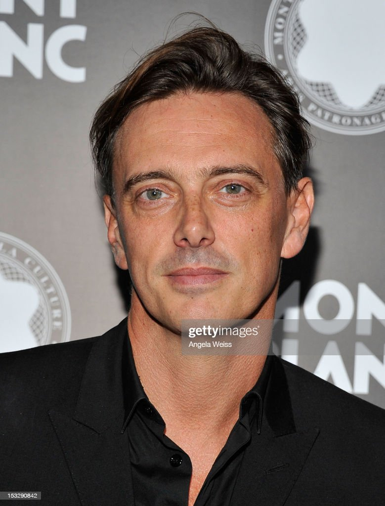 Singer Donovan Leitch arrives at Montblanc's 2012 Montblanc de la Culture Arts Patronage Award Ceremony honoring Quincy Jones at Chateau Marmont on October 2, 2012 in Los Angeles, California.