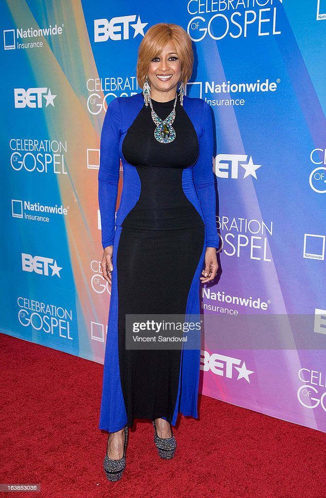Singer Dorinda Clark Cole attends the BET 13th annual 'Celebration Of Gospel' at Orpheum Theatre on March 16, 2013 in Los Angeles, California.