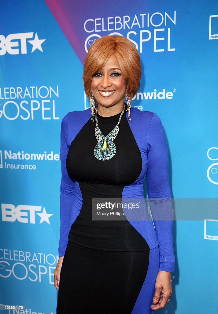 Singer Dorinda Clark Cole attends the BET Celebration of Gospel 2013 at Orpheum Theatre on March 16, 2013 in Los Angeles, California.
