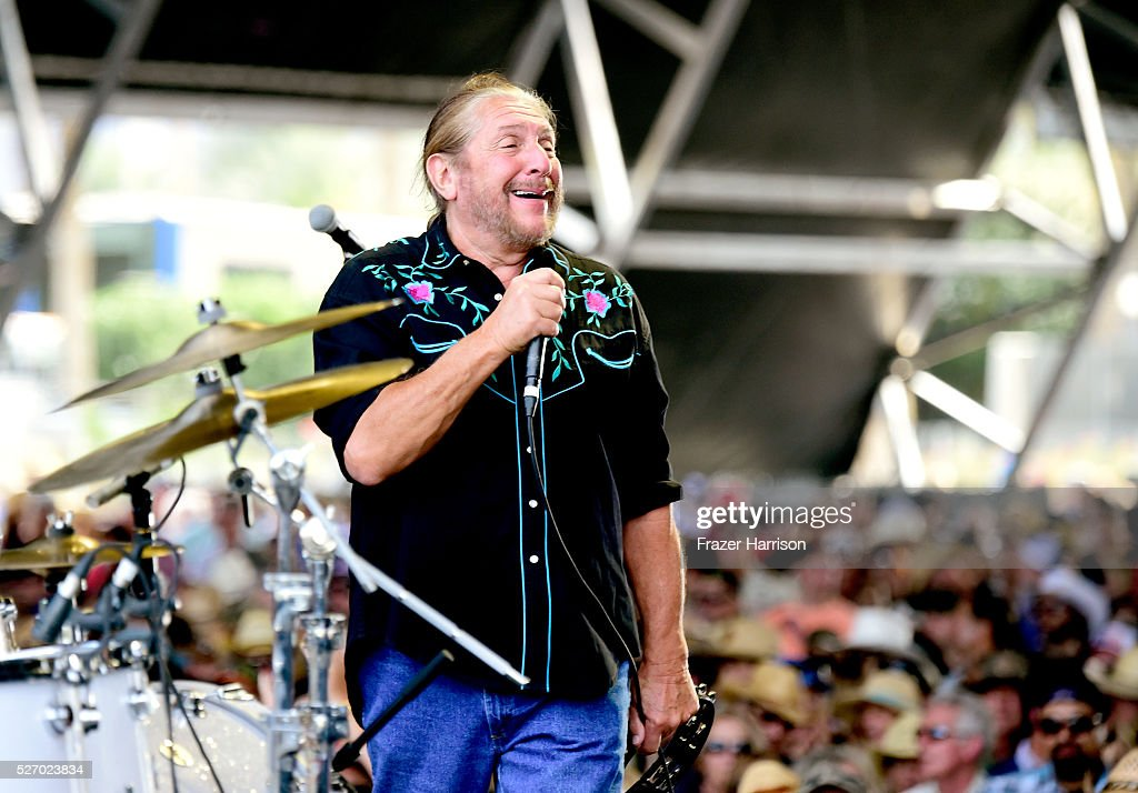 Singer Doug Gray of The Marshall Tucker Band performs onstage during 2016 Stagecoach California's Country Music Festival at Empire Polo Club on May 01, 2016 in Indio, California.