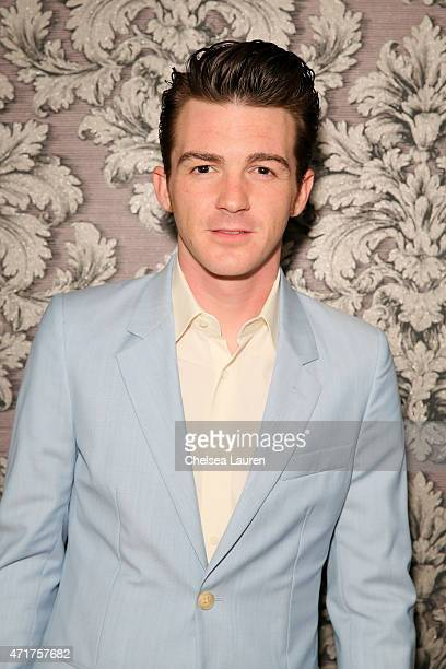 Singer Drake Bell attends EDL's grand opening party for Toca Madera on April 30 2015 in Los Angeles California