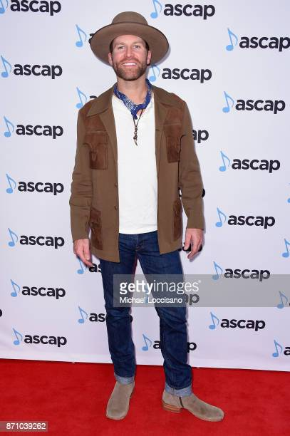 Singer Drake White attends the 55th annual ASCAP Country Music awards at the Ryman Auditorium on November 6 2017 in Nashville Tennessee