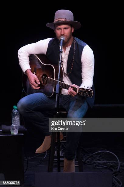Singer Drake White performs during the CMA Songwriters Series at The Kennedy Center of performing arts on May 24 2017 in Washington DC